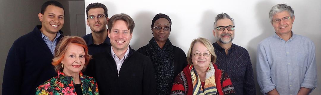 Février 2017 - Les auteurs, réunis à Paris pour 2 jours de travail collaboratif